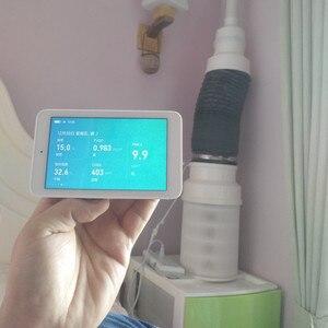 Image 5 - Xiaomi Mijia Lucht Detector Hoge Precisie Sensing 3.97Inch Touchscreen USB Interface Remote Monitoring PM2.5 CO2a Vochtigheid Sensor