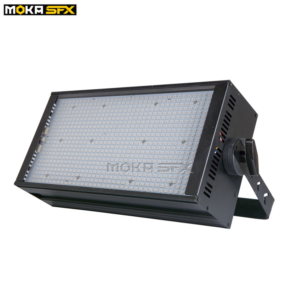 4pcs/lot High Brightness Stage Strobe Light 4 Section 792 Leds Strobe Light DMX-512 RGB 3 IN 1 Strobe Stage Lighting For Party