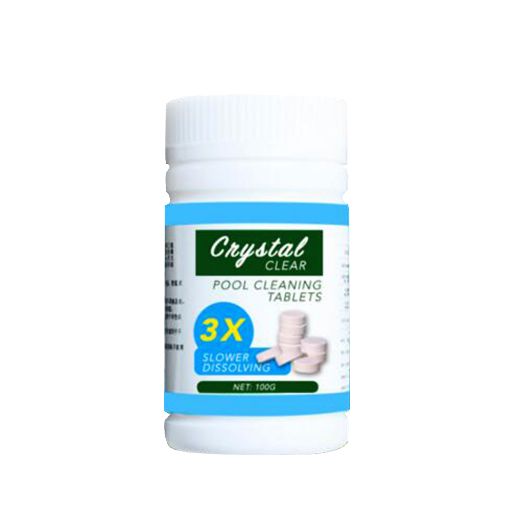 Bottle Swimming Pool Cleaning Effervescent Chlorine Tablets