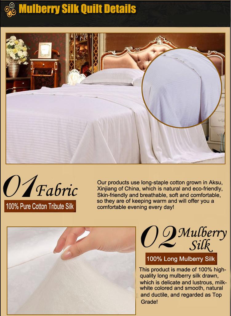 Mulberry Silk Quilt 16