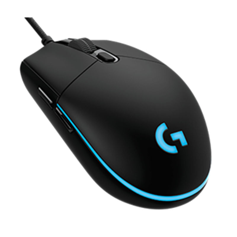 Logitech G Pro Wired Game Mouse RGB Colorful Backlit Macro Programming