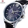 JULIUS Relógios Homens Top Marca De Luxo Militar Relógios de Pulso dos homens de Couro Genuíno Masculino Sports Quartz Watch Relogio masculino 017