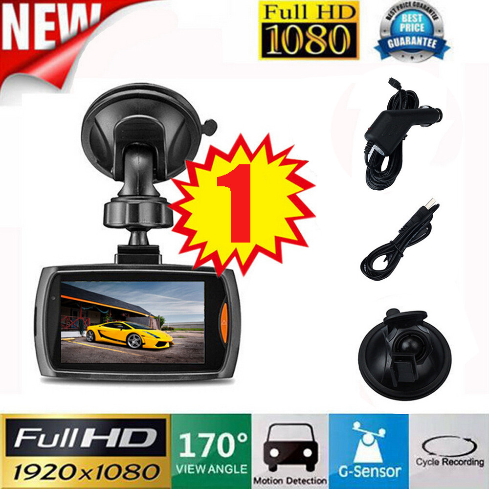 "2.4/""Full Car Video Recorder Dash Cam Blackbox HD 1080P G-sensor Driving recorder"