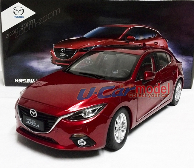 New Arrival 1pcs 1 18 China Mazda Axela 2015 Hatch Back Die Cast