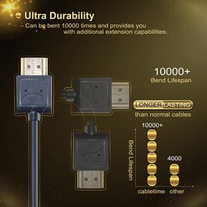 Image 3 - מיני HDMI ל hdmi 2.0 כבל מיקרו HDMI 4K/60Hz M/M פרימיום HDMI במהירות גבוהה מיני HDMI כבל 3D עבור HDTV מחשב Tablet PS4 XBox C126