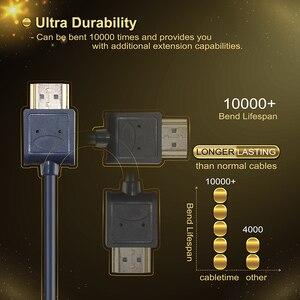 Image 3 - Mini Cable HDMI a HDMI 2,0, cable Micro HDMI 4K/60Hz M/M Premium HDMI de alta velocidad Mini HDMI 3D para HDTV PC Tablet PS4 XBox C126