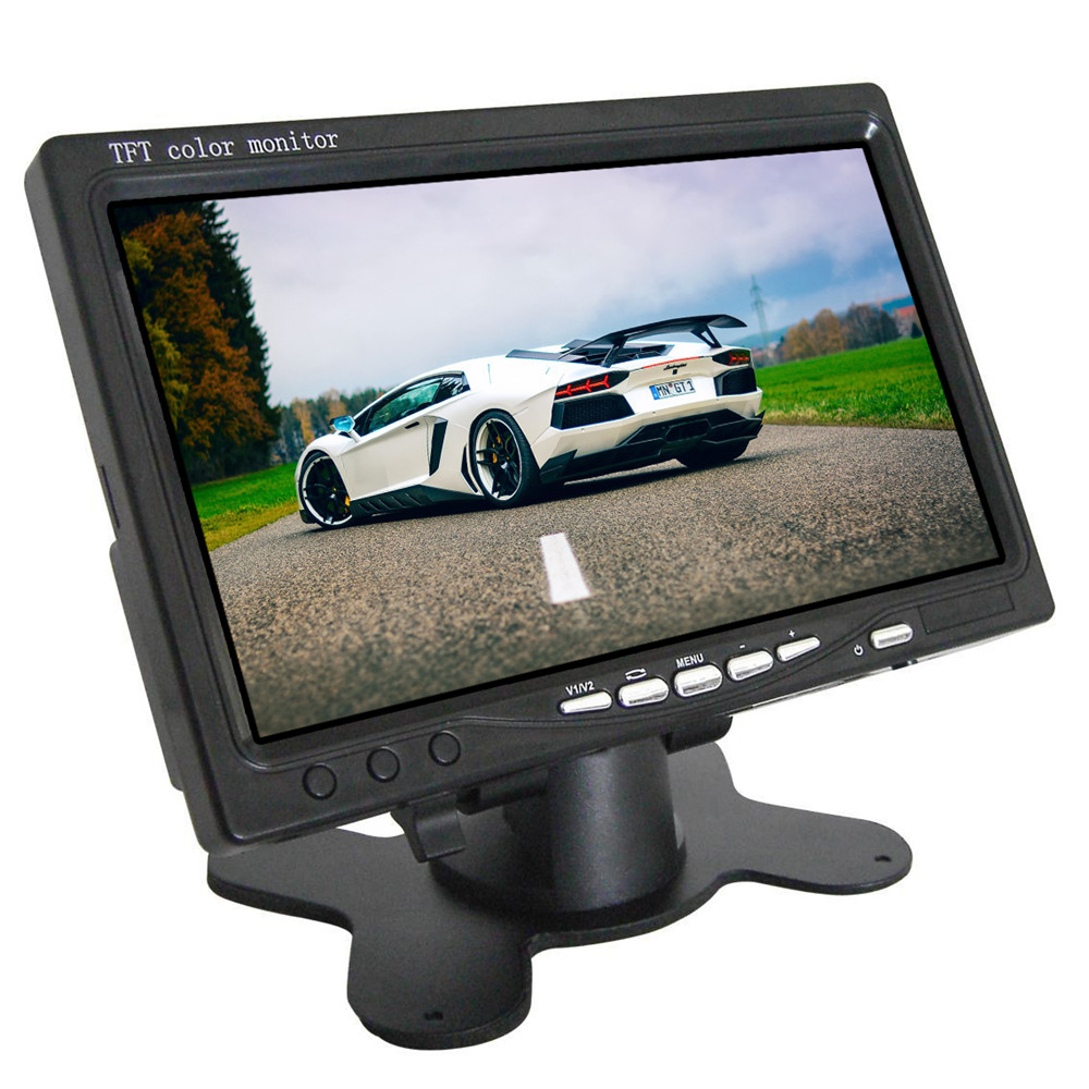 7 inches Standalone Screen Monitor 8 36V Stand alone Monitor Car Rear View  monitor|Car Monitors| |  - title=