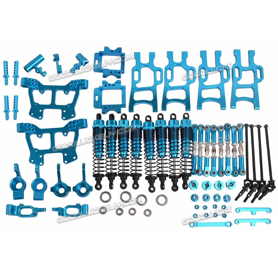Upgrade Parts Package for HSP RC 1:10 Electric Nitro Off-Road Monster Truck Blue