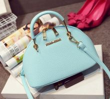 Candy color mini shell suitcase, sweet lady lovely spring and summer new shoulder Messenger bag,women cute crossbody bags