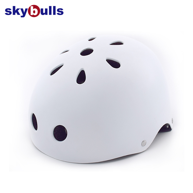 Skybulls casque de cyclisme rond hommes femmes patin de montagne casque de vélo Crash forte Scooter cascadeur Skateboard casque de vélo