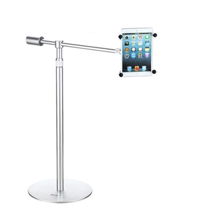 360 Degree Full Rotation Aluminum Alloy 4.7-12 inch Tablet PC Stand Flexible Phone Tablet Holder Mounting Bracket