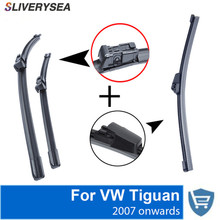 SLIVERYSEA Front and Rear Wiper Blade no Arm 2007 onwards High quality Natural Rubber windscreen 24''+21''