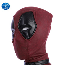 MANLUYUNXIAO Movie Deadpool Cosplay Mask Latex Full Head Helmet Wade Winston Wilson Party Costume Masks Adult Funny