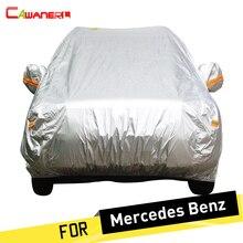 Cawanerl Cubierta Del Coche Coupe Sedan Wagon Sol Lluvia Nieve Cubierta de Protección para Mercedes Benz E320 E350 E420 E430 E500 E250D E300D E260L