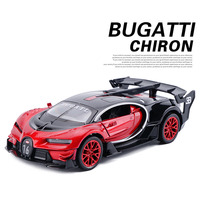 New 1 32 Toy Car Bugatti Metal Alloy Diecast Car Model Miniature Scale Model Sound And