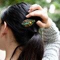 Mulheres Grampos BroocHeadwear Ágata Deixa Frisado Clássico Presente de Casamento Enfeites de Cabelo Jóias Acessórios Menina de cabelo Enrolado F012