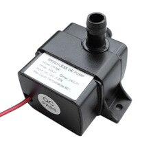 Ультра-тихий постоянного тока 12V 4,2 W 240L/ч расход Водонепроницаемый Бесщеточный насос мини погружной водяной насос QR30E
