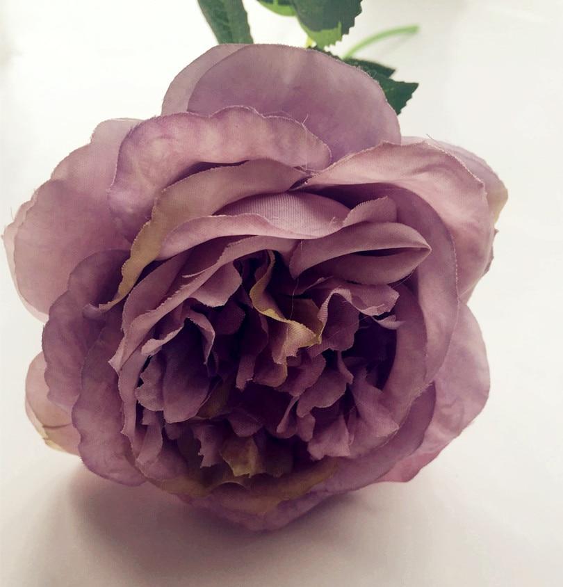 10pcs lažno oljno slikanje učinek Avstralija rose cvet mizo cvet - Prazniki in zabave - Fotografija 3