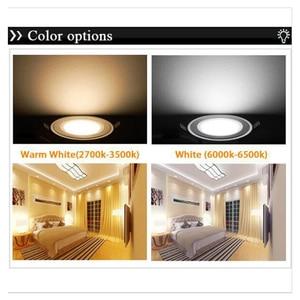 Image 3 - Kısılabilir 3 w 5 w 7 w 9 w Anti sis led downlight Cree LED tavan lambaları Gömme Spot ışık Aşağı Işıkları ev aydınlatma için