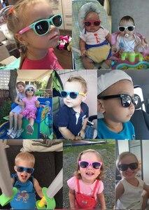 Image 5 - Long Keeper เด็กแว่นตากันแดดแว่นตากันแดดเด็กทารก UV400 แว่นตาเด็ก Shades Gafas Infantil
