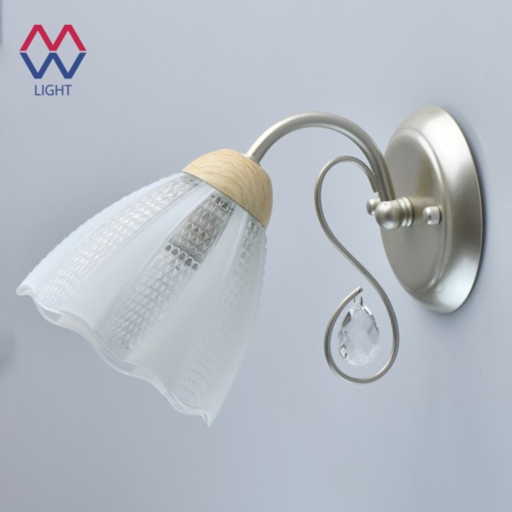 Wall Lamps MW-LIGHT 297023601 lamp Mounted On the Indoor Lighting Lights modern golden silver wall light corridor 3w ac85 265v led lamp stair corridor crystal wall sconce