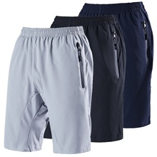 ZOGAA Summer Mens Casual Shorts Loose Cotton Movement Dry Quickly Fitness