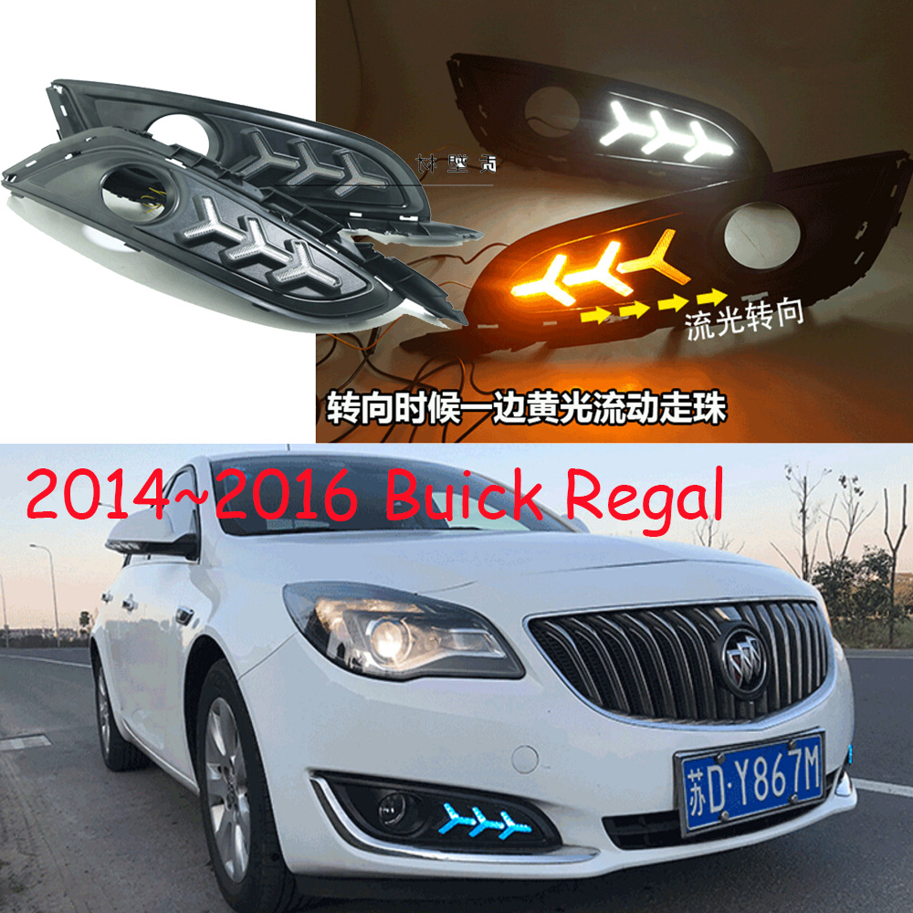 Фотография LED,2014~2016 Regal daytime Light,Regal fog light,Regal headlight,Regal,Enclave,GT,XT,GL8,Regal Taillight