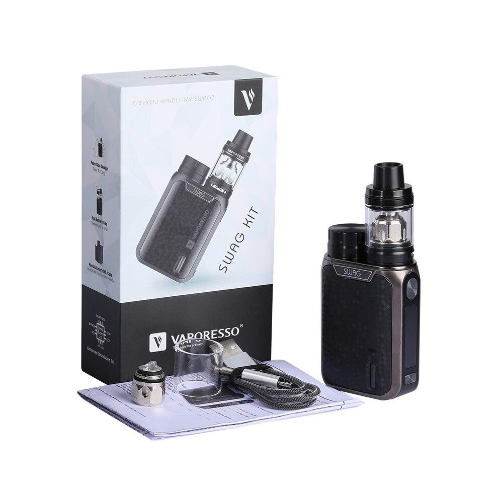 Cigarette électronique d'origine Vaporesso Swag avec réservoir NRG SE 3.5 ml 80 W boîte Mod vaporisateur Portable taille Vape VS Revenger X - 5