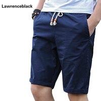 Cotton Shorts Men Brand Casual Summer Plus Size Men Short Knee Length Surfings Short Leisure Fitness