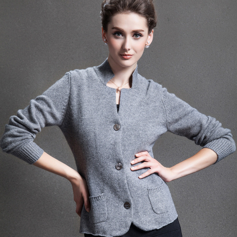 2016-New-real-cashmere-cardigan-sweater-pure-cashmere-sweater-winter-brand-cardigan-Free-Shipping-JN141