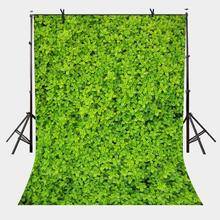 150x210cm Green Leaf Wall Backdrop Layered Photography Background for Camera Photo Props