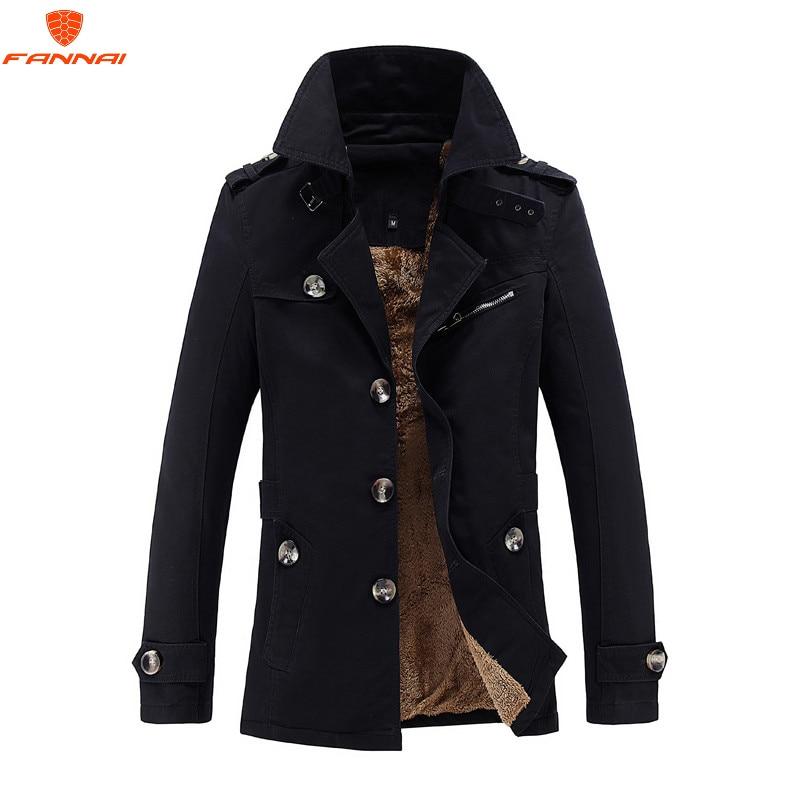 2018 Winter New Jacket Men Warm Coat Fashion Casual Parka Medium-Long Thickening Coat Men For WinterCoat Size 5XL