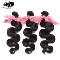 MOCHA Hair 10A Malaysian Virgin Hair Weave Bundles Body Wave Unprocessed Human Hair Extension Natural Color Free Shipping