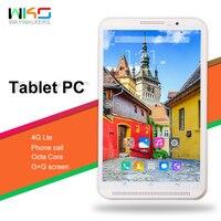 Горячая 2019 Новые Android 7,0 Octa Core дюймов 8 дюймов планшеты PC 4G B оперативная память 32 ГБ Встроенная 8MP Wi Fi G + G экран 800 * 4G LTE телефонный звонок