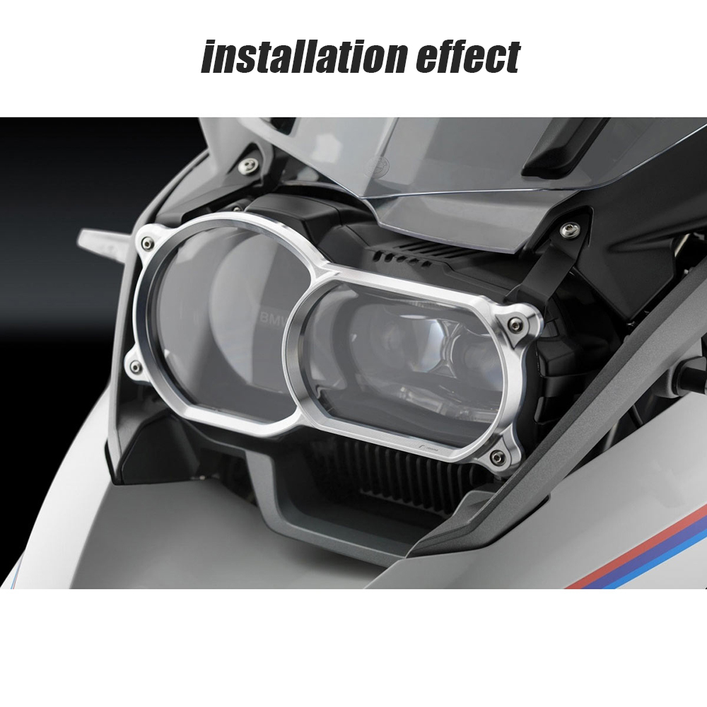 R1200 GS LC 2013-2019 Silver R1200GS LC ADV 2014-2019 Motorcycle Headlight Guard Quick Release For BMW R1250 GS Adventure 2019