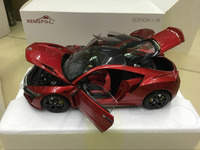 KengFai Honda NSX Red Edition 1:18 Scale Die Cast Model Car 4 Door Open