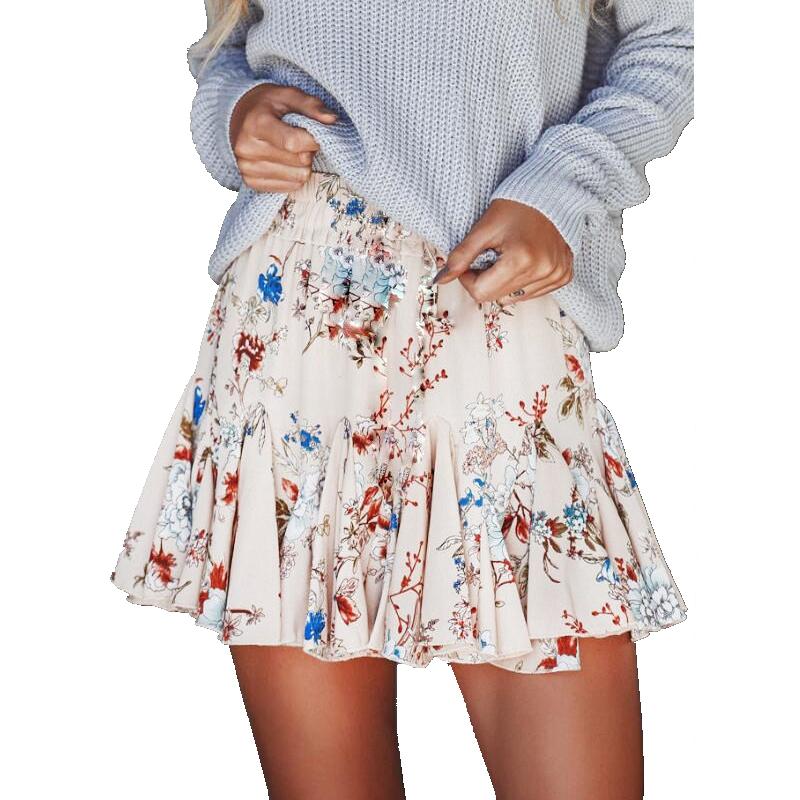 HTB1JzicSpXXXXc8aXXXq6xXFXXXI - Women Floral Mini Skirt JKP090
