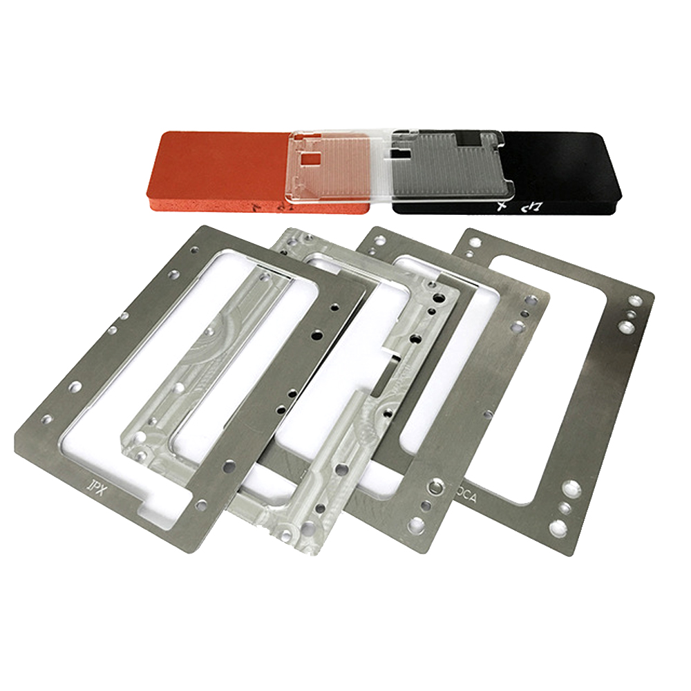 Precision Alignment laminating Mold OCA/Glass/LCD Location Moulds For iPhone X/XS/XS Max LCD Refurbish Maintenance ToolsPrecision Alignment laminating Mold OCA/Glass/LCD Location Moulds For iPhone X/XS/XS Max LCD Refurbish Maintenance Tools