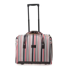 Best Selling Rolling Luggage Color lattice Password Lock Computer Trolley case box Bag Spinner Wheels Travel Suitcase 18″ inch