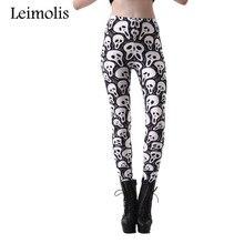 2016 Tenths adventure time punk rock hara u black milk push up fitness sexy 3d print dreadful ghost Mask women leggings sports