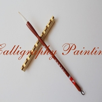 1 Pcs Brass Brush Rest Paperweight Calligraphy Painting Sumi e Tool