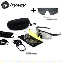 5bfef998c84f7 Óculos de proteção táticos SI M 3.0 Balístico Quadro MIOPIA Polarizada  gafas Militar Do Exército Combate Airsoft Wargame Paintba.