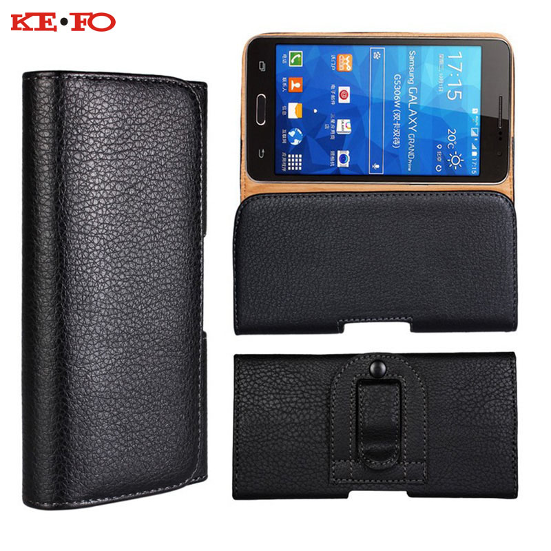 Belt Clip Holster Leather Mobile Phone Cases Pouch ForSamsung galaxy J5 2016 5inch Universal For Smartphone Cell bags