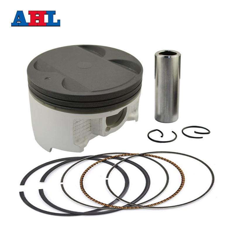 STD 83mm;1 Set Kolben Ringe Kit f/ür DL650 2007-2011 SV650 2003-2012 Road Passion