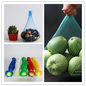 100pcs Garlic net bag food preservation nylon  plastic packing fruit Gardening