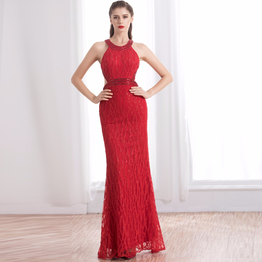 Compare Prices on Red Halter Evening Gown- Online Shopping/Buy Low ...