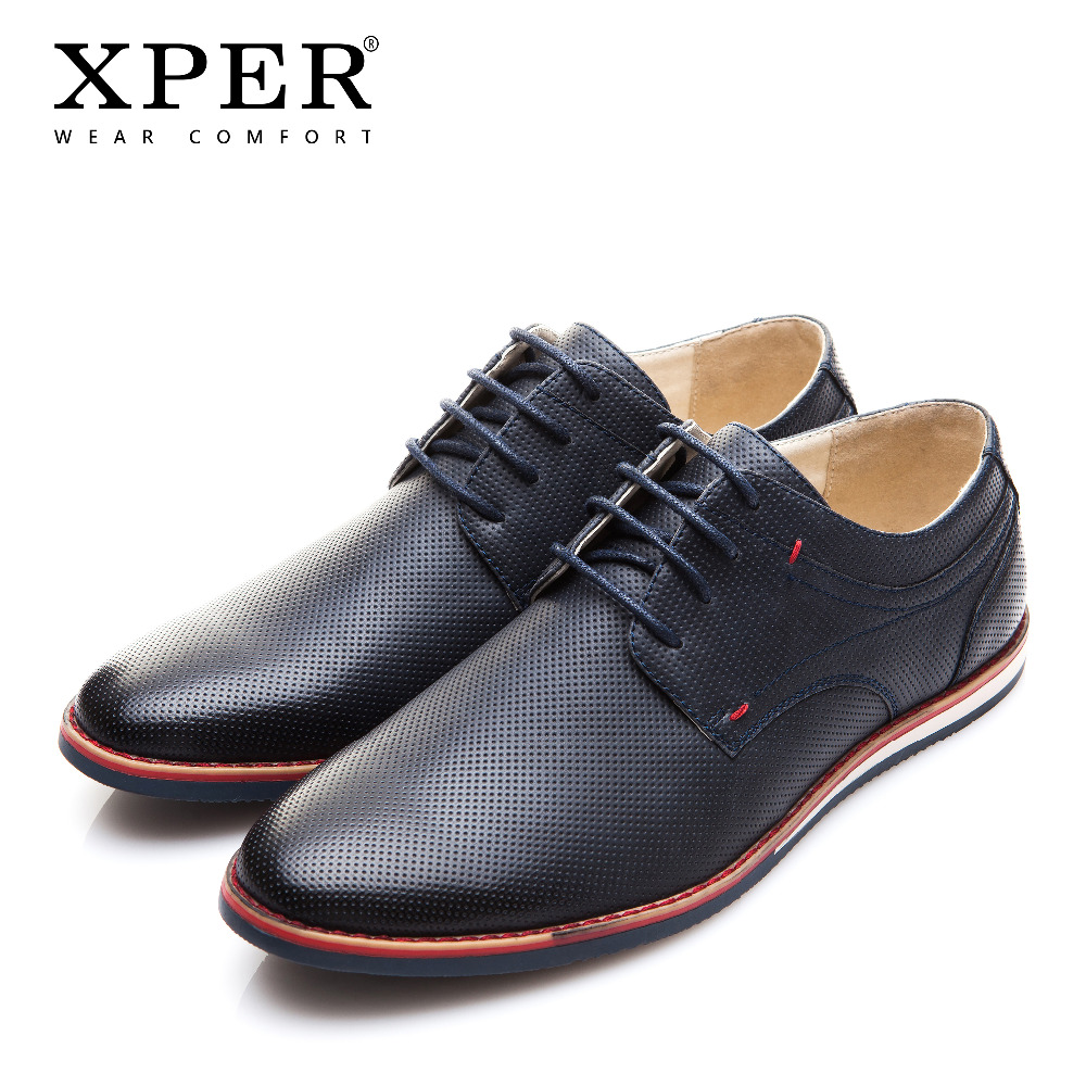 XPER Brand New Fashion Spring Autumn Men Casual Shoes Breathable Lace-Up Men Flats Shoes Wear Comfortable Male shoes XAF86205 mycolen 2018 new spring autumn classic men casual shoes comfortable flat shoes fashion breathable wear resistant shoes