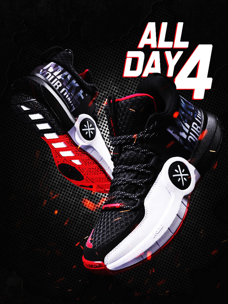 Tenis de Basquete Li-Ning Wade ALL DAY 4