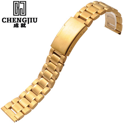 Mens Stainless Steel Watch Band Deployment Clasp Rose Gold Bracelet Wrist Watchband Belt Male Straps Montre Masculino Watchband 28mm convex stainless steel watchband replacement watch band butterfly clasp strap wrist belt bracelet black rose gold silver page 6