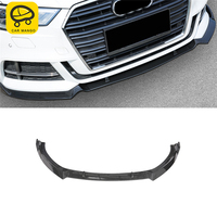 CAR MANGO Car Styling Front Bumper Protect Exterior Accessories for Audi A3 2017